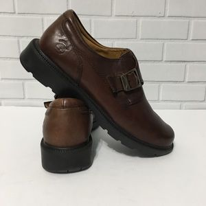TIMBERLAND Brown Leather Shoes  8.5